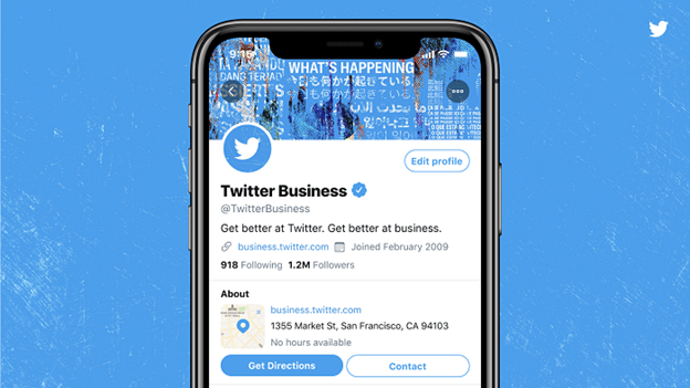 twitter professional profiles