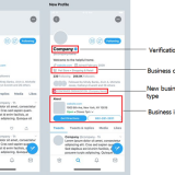 Twitter tests Professional Profiles for brands, creators