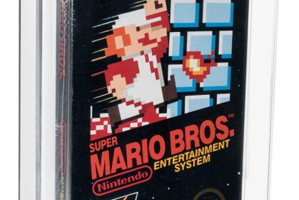 Sealed Copy of Super Mario Bros. Sold for $660K